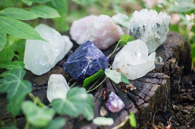 Piedras esotéricas y cuarzos