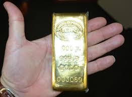 soñar con dinero en forma de lingotes de oro