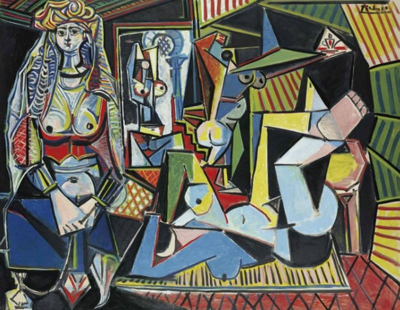 Les Femmes D'Alger (Versión 'O') - Pablo Picasso