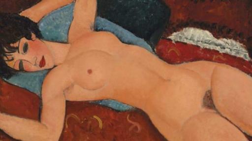 Nu Couche entre las 10 obras de arte más caras de la historia