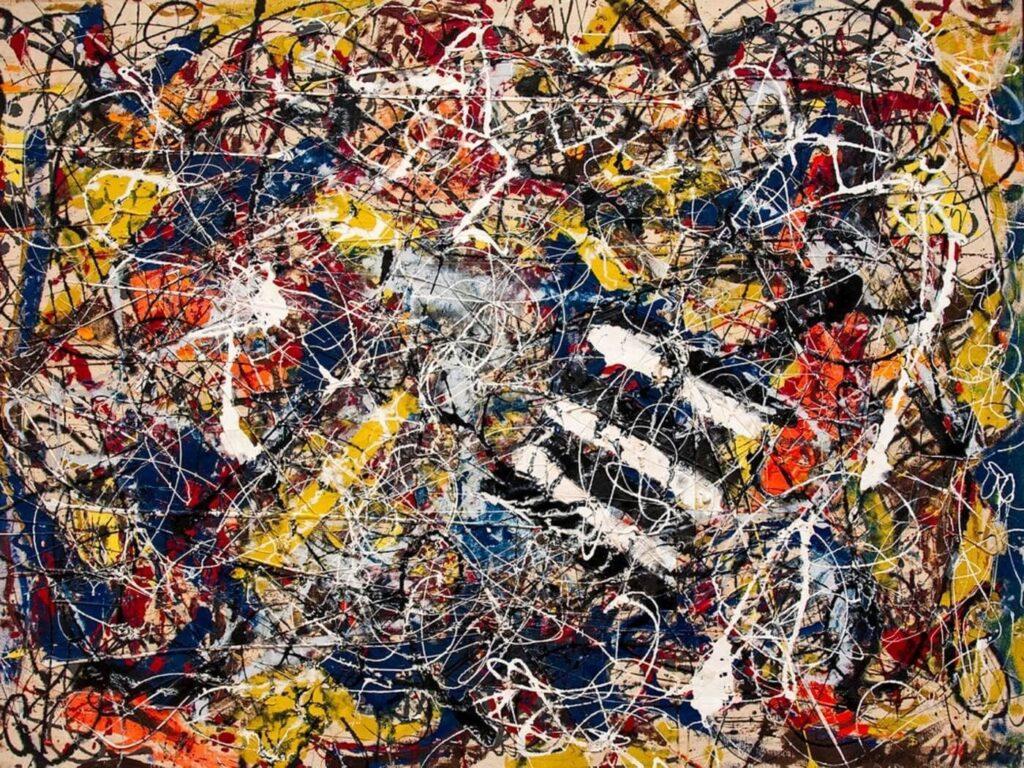Número 17A - Jackson Pollock